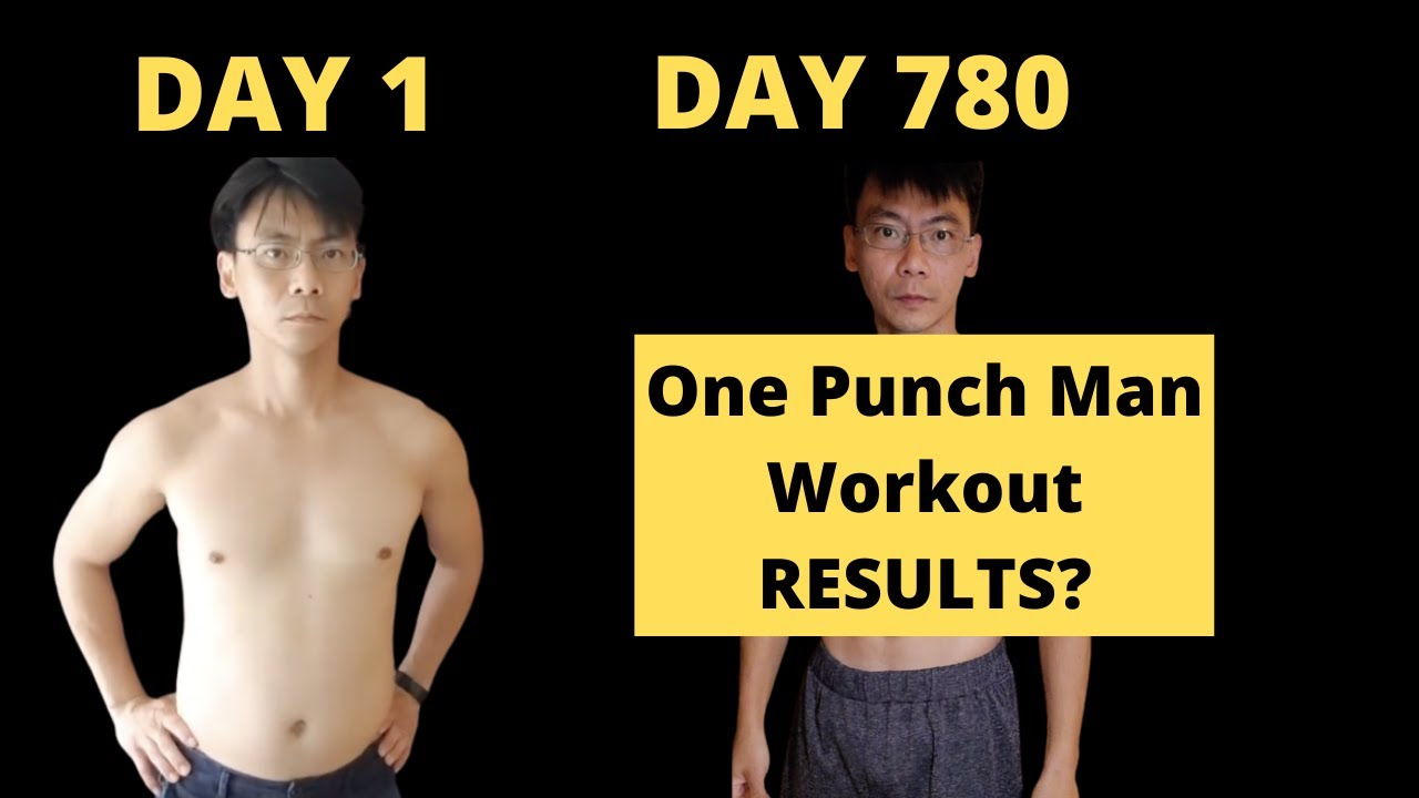 Download I did One Punch Man Workout for 780 Days- RESULTS!How to Get Started|Body Transformation