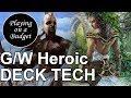 MTG Standard: G/W Heroic Deck Tech - Playing on a Budget
