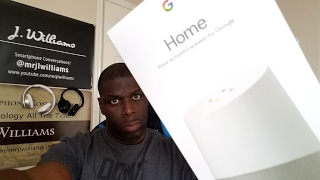 FREE Google Home Unboxing! Thanks LG!