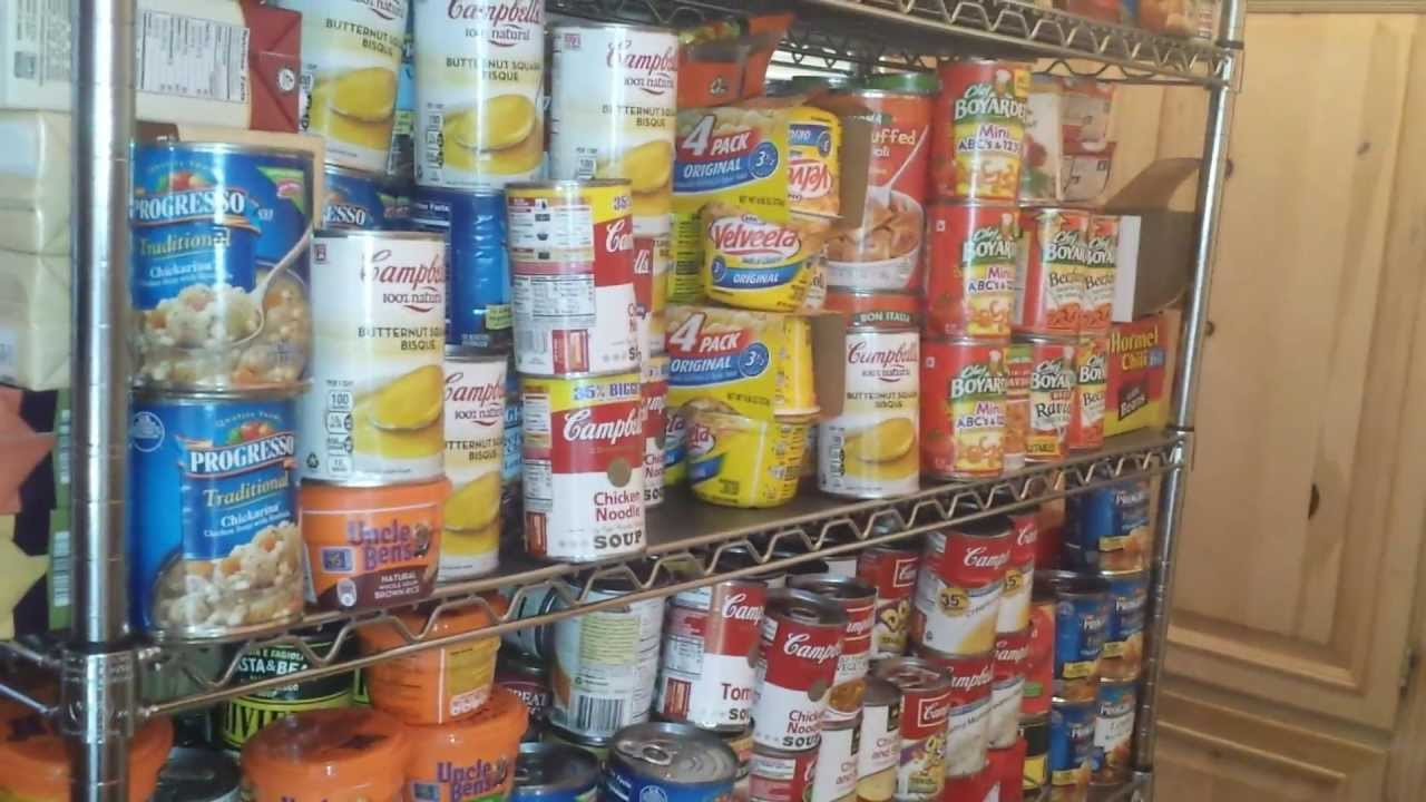 Prepping Why So Much Canned Food Healthy Prepper Its So