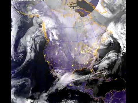 1 Year Satellite Photo Timelapse of North America from 2015-