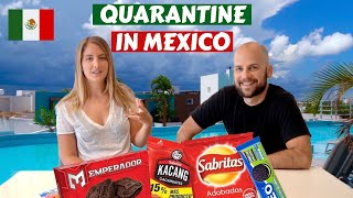 Trying Mexican Snacks in Quarantine Vlog | Mexico