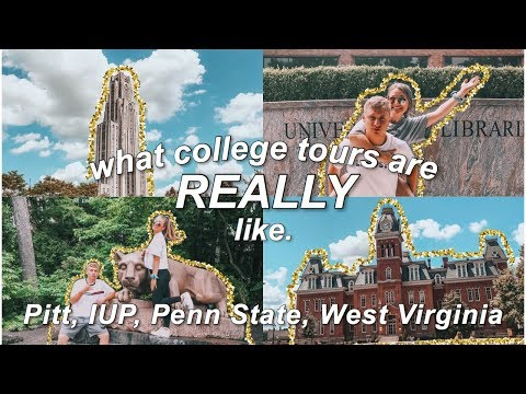 Week In My Life Of COLLEGE TOURS