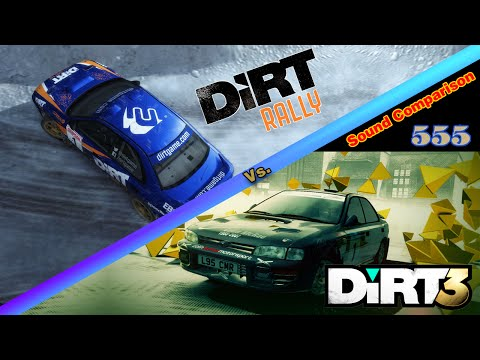 DIRT Rally Vs. Dirt 3 Sound Comparison (1995 Subaru Impreza WRC)