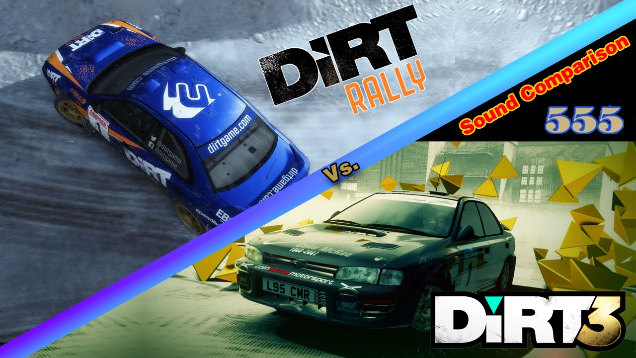 dirt rally vs dirt 3 sound comparison 1995 subaru impreza wrc youtube. Black Bedroom Furniture Sets. Home Design Ideas