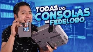 Mostrando todas mis consolas I Fedelobo I