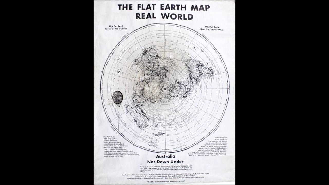 Flat earth real world map does not spin or whirl youtube flat earth real world map does not spin or whirl gumiabroncs Gallery