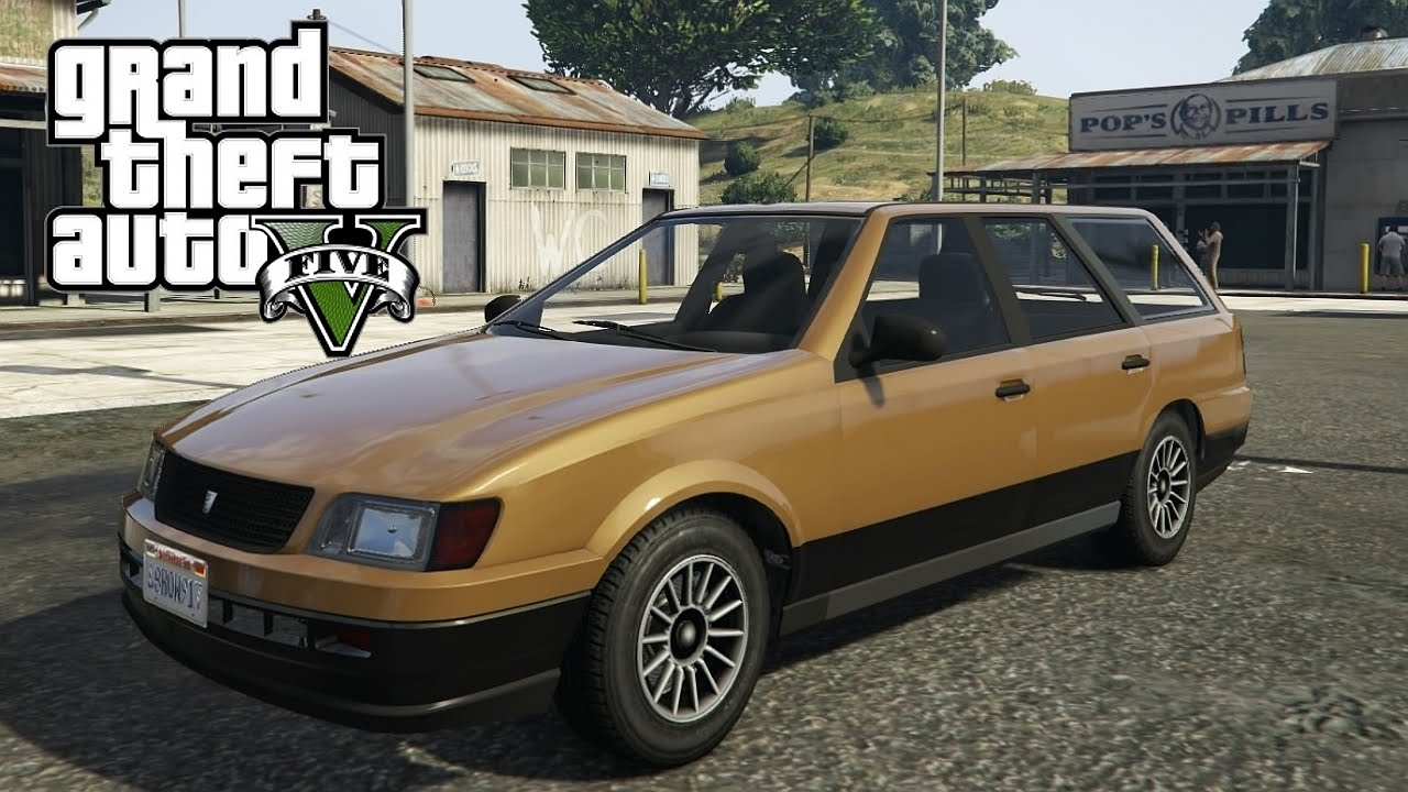 Gta V Next Gen Vulcar Ingot Sedan Test Drive Youtube