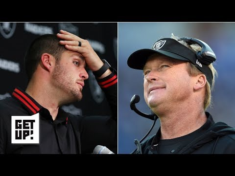 Is Derek Carr the Raiders' QB of the future for Jon Gruden? | Get Up!