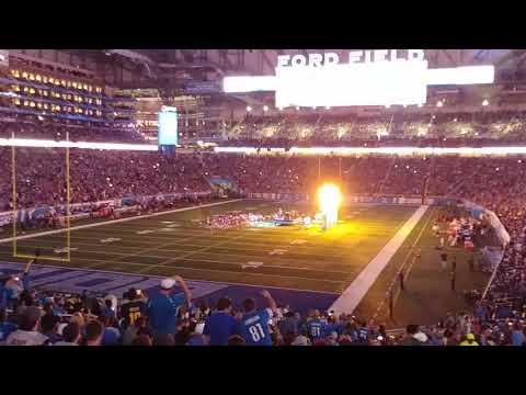 Lil' Jon @ Ford Field (Lions Vs. Patriots Halftime Show)