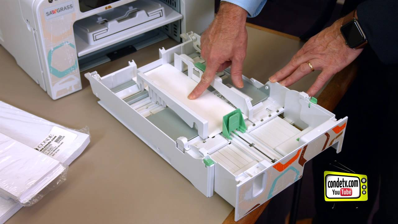 Sawgrass Virtuoso Sg Sublimation Printers Adjusting Paper