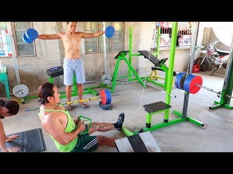 Homemade Gym Equipment - Workout Madness