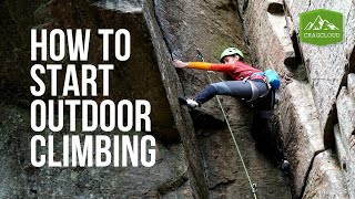 8 beginner tips you NEED To know on how to start outdoor rock climbing