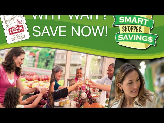Freson Bros. Presents Smart Shopper Rewards