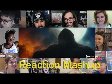 Kong  Skull Island Official Trailer 2 REACTION MASHUP