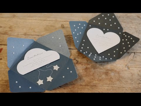 diy invitation envelopes by søstrene grene youtube