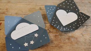 DIY: Uitnodiging enveloppen door Søstrene Grene