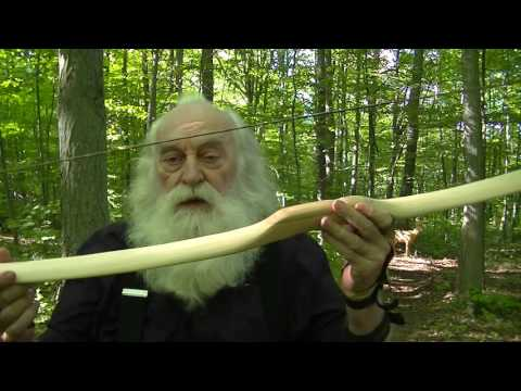 HOW TO SHORTEN THE DRAW & AIM A PRIMITIVE HICKORY LONGBOW