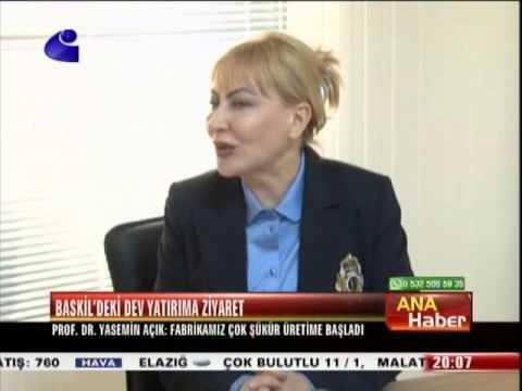 Yıldırım , Seza Çimento'yu Ziyaret Etti - Kanal E