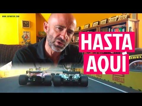 Vettel choca contra Hamilton... Así no - El Garaje de Lobato