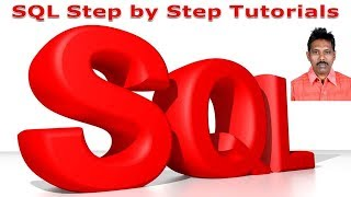 SQL Step by Step Tutorial - Full Course for Beginners