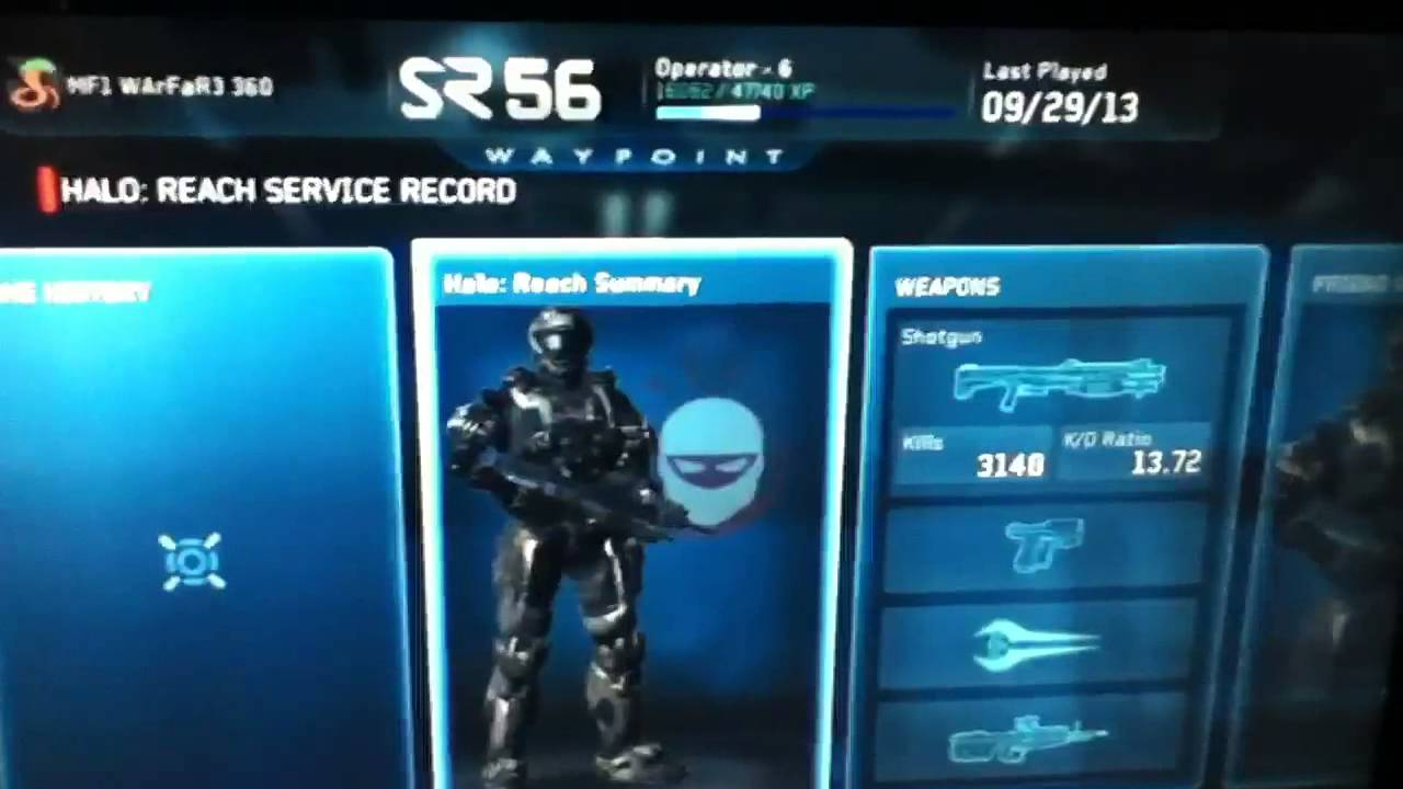 How to get the CQB and Military Police helmet in Halo Reach