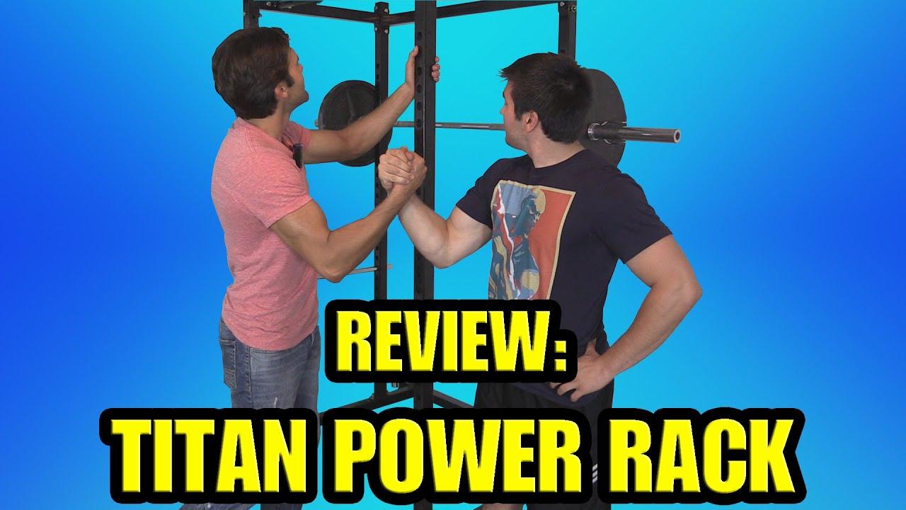 titan rack t healthier deadlift review hd squat land power