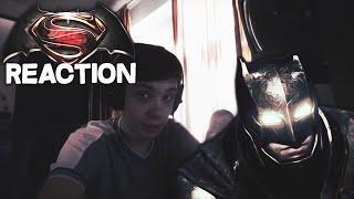 "Reaction | Трейлер ""DC Batman v Superman/Бэтмен против Супермена"""
