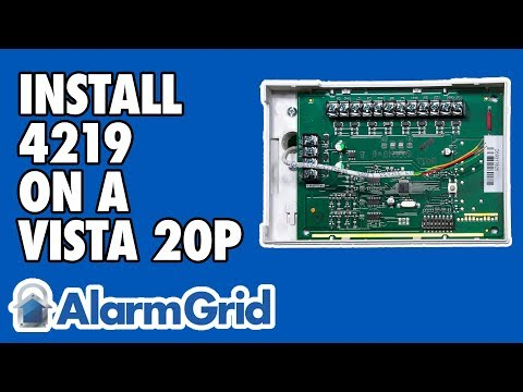 How Do I Wire The Honeywell 4219 To My Vista 20P? - YouTube Vista Fbp Wiring Terminal Diagram on