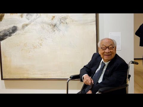 I.M. Pei Visits Asia Society Museum's New Exhibition