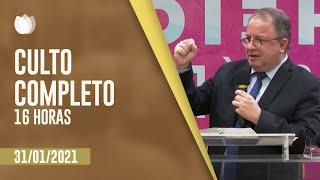 CULTO VESPERTINO 16H | Rev. Arival Dias Casimiro | Igreja Presbiteriana de Pinheiros | IPP TV