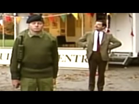 Giving Order to Army Cadets | Mr. Bean Official