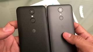 AT&T LG Phoenix 3 M150 vs LG Phoenix 4 X210APM
