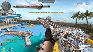 Crossfire NA 2.0 : M4A1 Noble Silver Dragon - Hero Mode X - Zombie V4