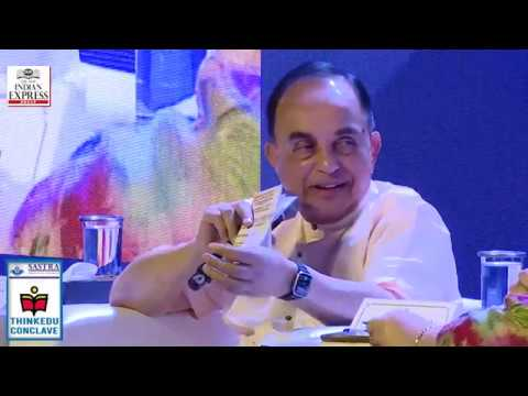 ThinkEDU 2020 - Life after Ayodhya: What's Next? , Subramanian Swamy, Member of Parliament, BJP