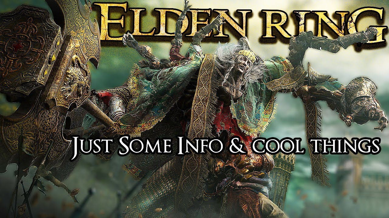 NEW Elden Ring Info- 4 Player CO-OP, Many Weapon & Armors, Stealth & MORE (Live Trailer Analysis)