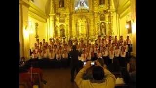 Gracias por la música - coro de niños del conservatorio