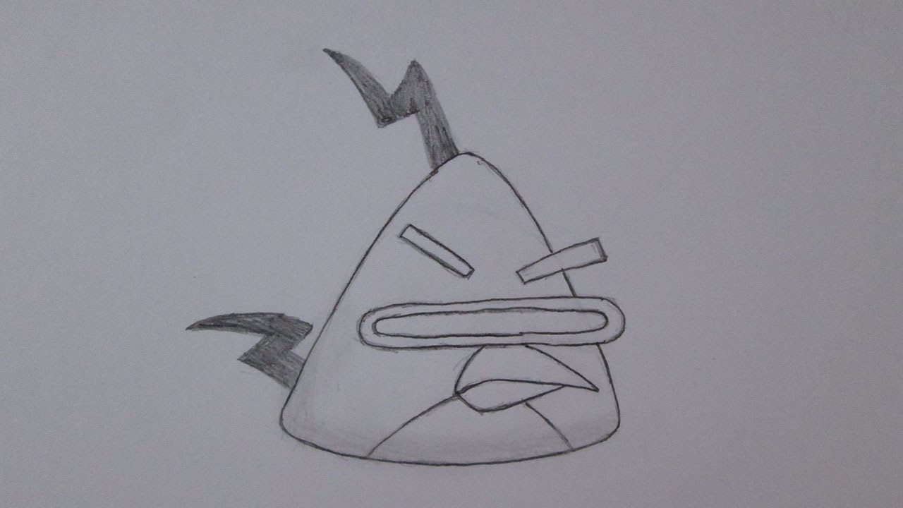 Como Desenhar O Lazer Bird De Angry Birds Space Youtube