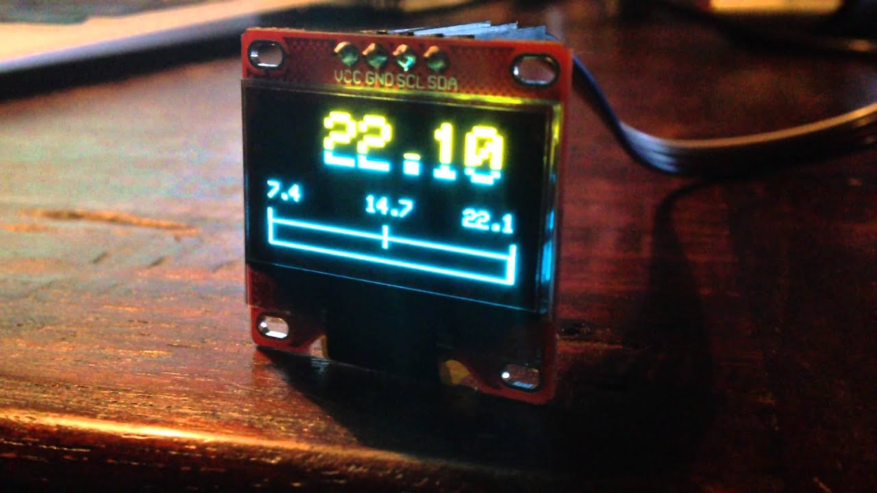 Arduino Oled Gauge: Oled graphical boost gauge prototype