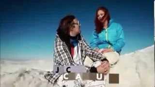متزلجة لبنانية  -  جاكي شمعون  عارية على الثلج