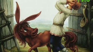 Ослик и маленькая лошадка встречали посетителей центральной детской библиотеки