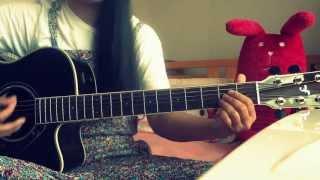 阿部真央さんの boyfriend(6月26日発売!)を 弾いて歌ってみました。