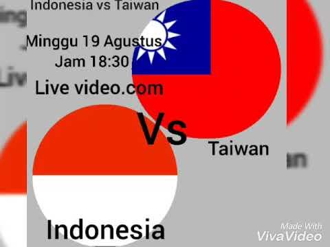JADWAL TIMNAS PUTRI INDONESIA VS TIMNAS PUTRI TAIWAN