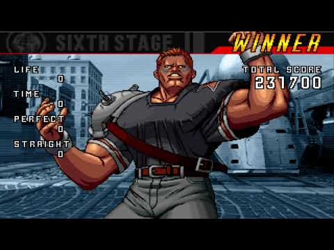 The King of Fighters 98 ultimate match final edition playthrough part 42 Brian Battler |