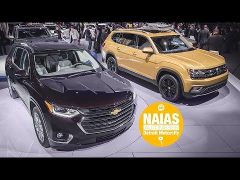 KurzKontakt: Chevrolet Traverse vs. VW Atlas