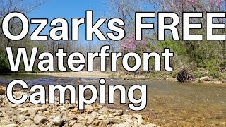 RV Living Ozarks Waterfront Free Camping