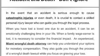 Tips for What to do After Car Accident ppt