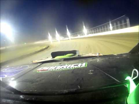Tony Rost NASCAR Sport Modified A Feature win @ Junction Motor Speedway on board camera