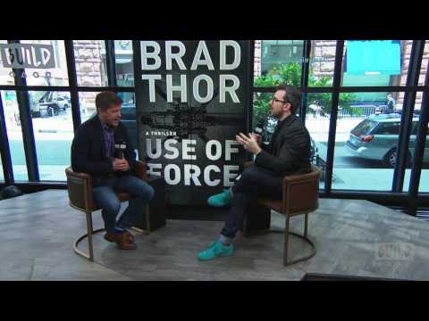 "Brad Thor Discusses His New Book, ""Use Of Force"""