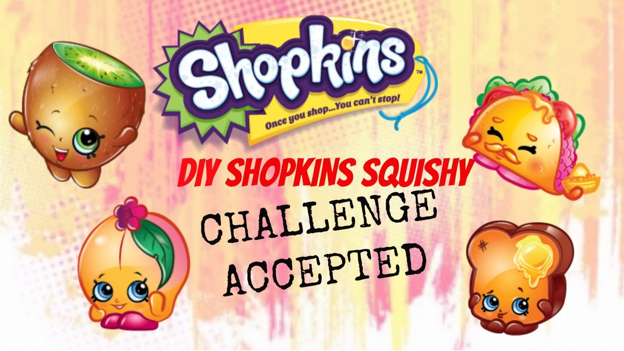 Mission Impossible DIY SHOPKINS SQUISHY Challenge ACCEPTED - YouTube